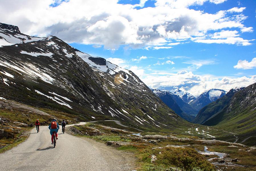 Велотур по Норвегии. Согнефьель
