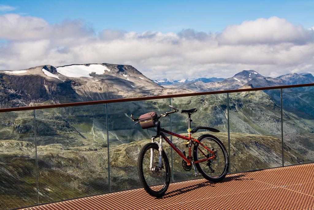 Обзорная площадка в Норвегии