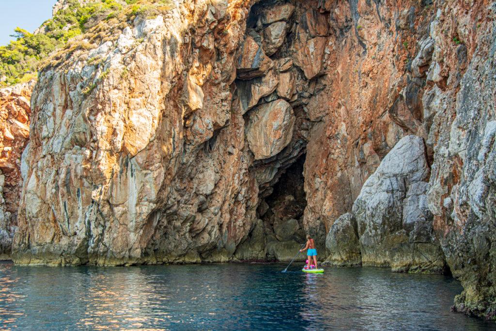 САП тур в Турции. Гроты Средиземного моря