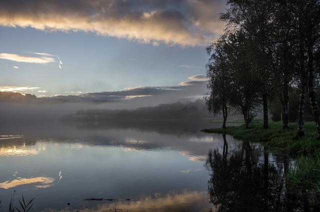 Велопутешествие по Норвегии. Озера