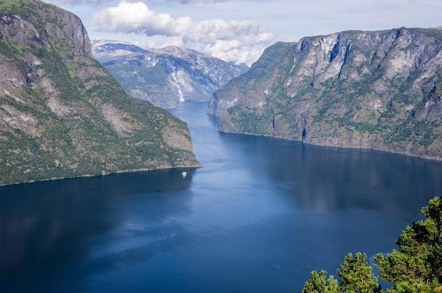 Велопутешестие по Норвегии. Аурлан-фьорд