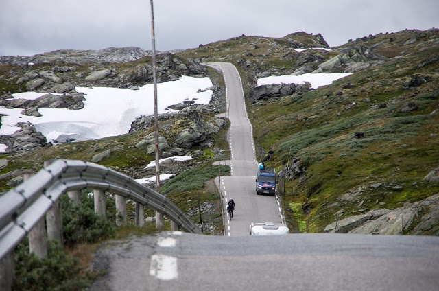 Велопутешестие по Норвегии. Согнефьель