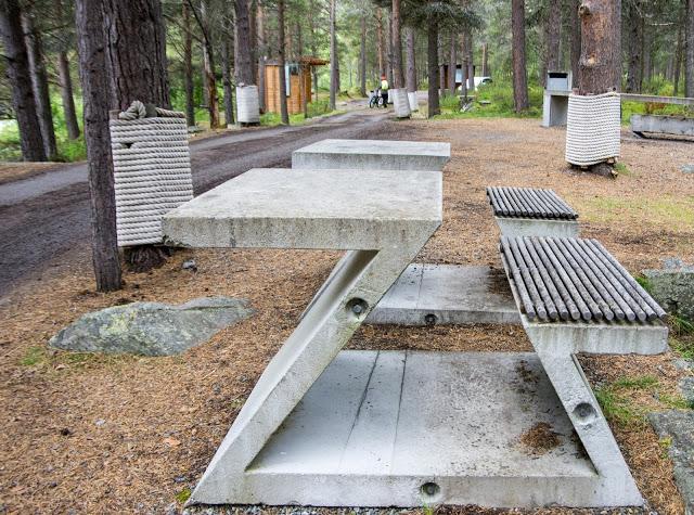 Зона отдыха в Норвегии