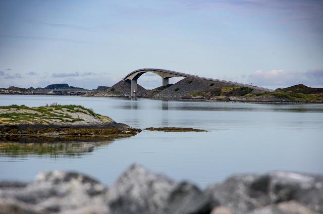 Велопутешестие по Норвегии. Атлантическая дорога