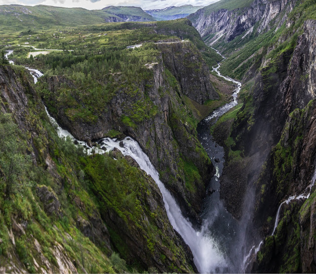 Водопад Вёрингфоссен