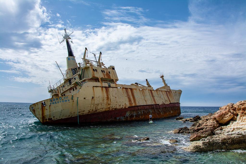 Активный тур Кипр. У затонувшего корабля Эдро 3