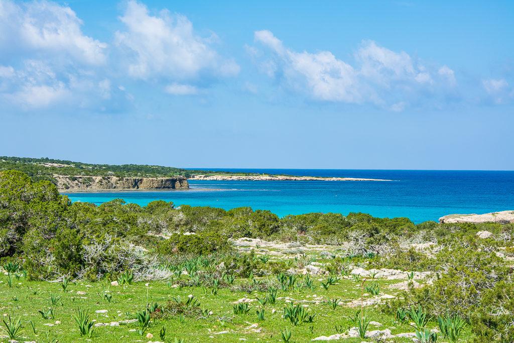 Бухты Акамаса. Голубая лагуна