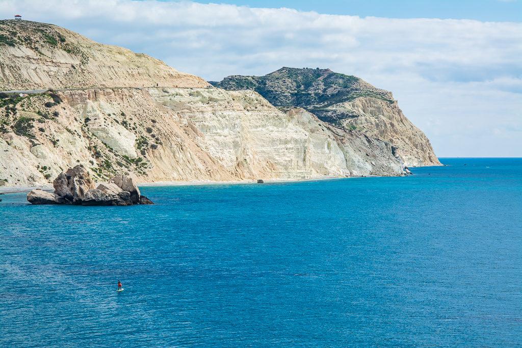 САП тур Кипр. У камня Афродиты