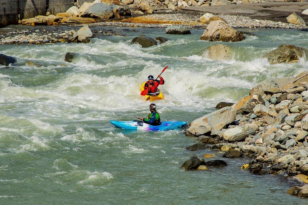 Каякинг на реке Риони