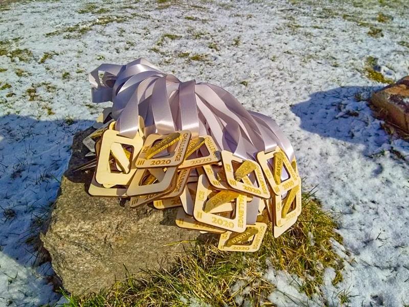 Медали соревнований Bayda Ice Clallenge 2020