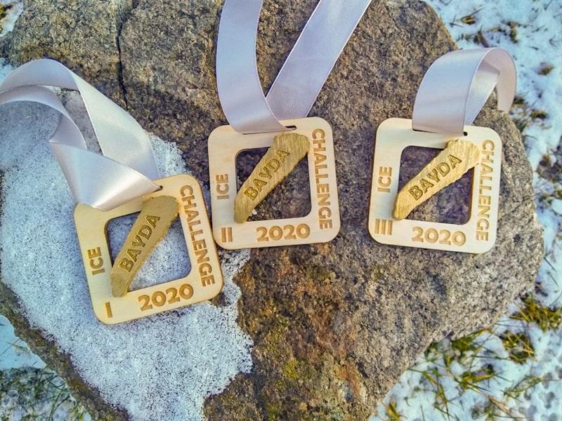 Медали призеров Bayda Ice Clallenge 2020