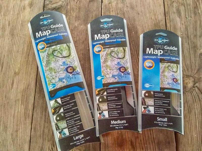 Непромокаемые кейсы для карт от авcтралийского бренда Sea to Summit
