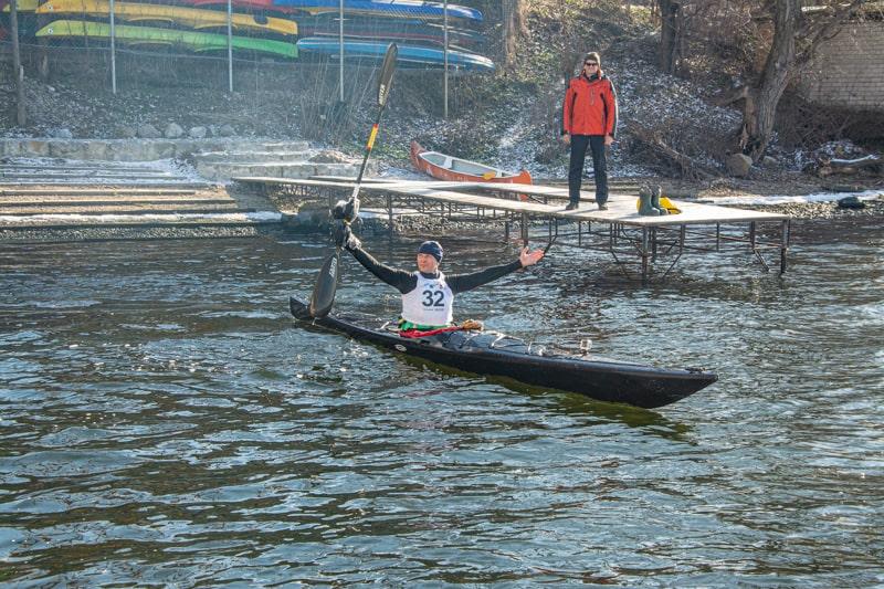 Переможець в абсолюті на дистанції 12 км Олег Мєлєшко