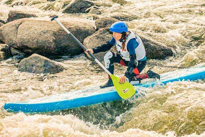 Светлана Вихляева на соревнованиях Water4All