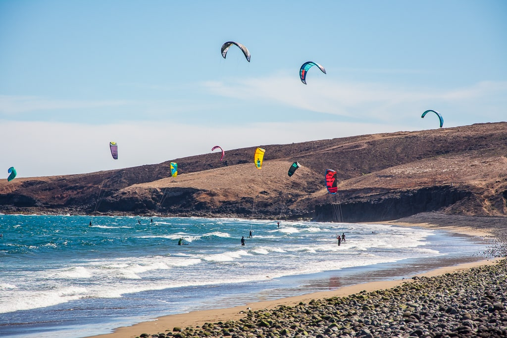 Пляж Las Cruces