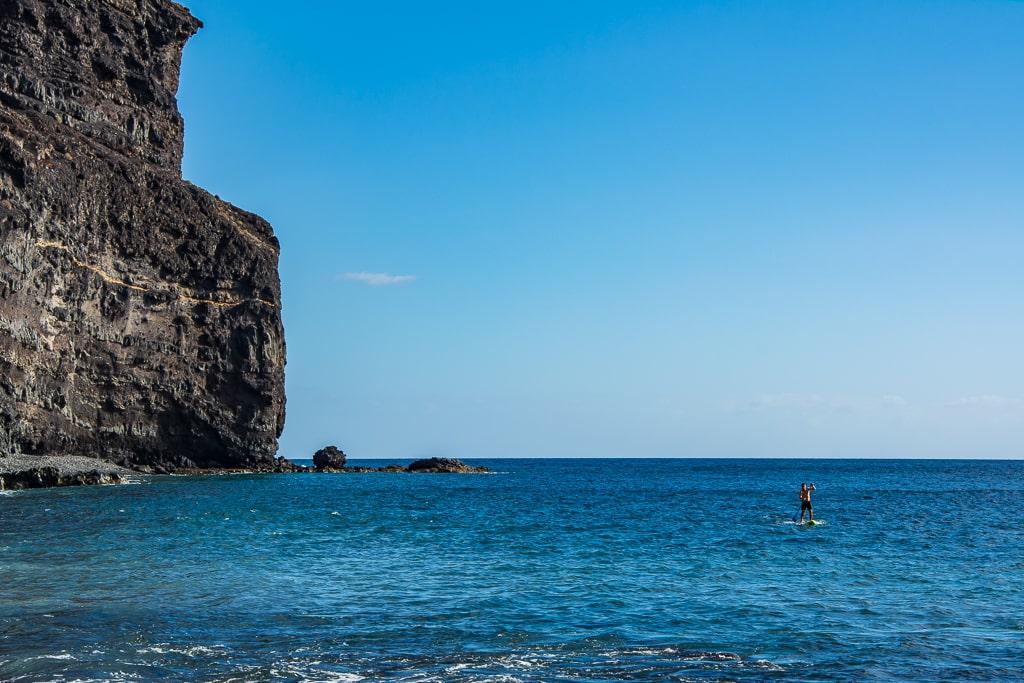 Сапинг от пляжа Tasartico