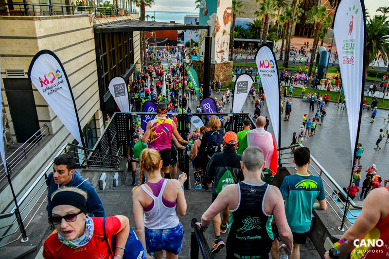 Стартовый городок Гран-Канария марафон 2019