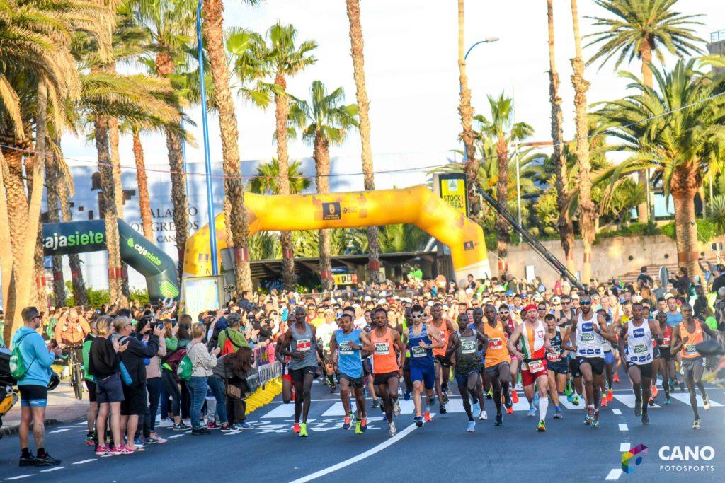 Элита на Гран-Канария марафоне 2019