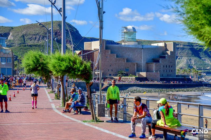 Трасса марафона в Лас-Пальмасе 2019