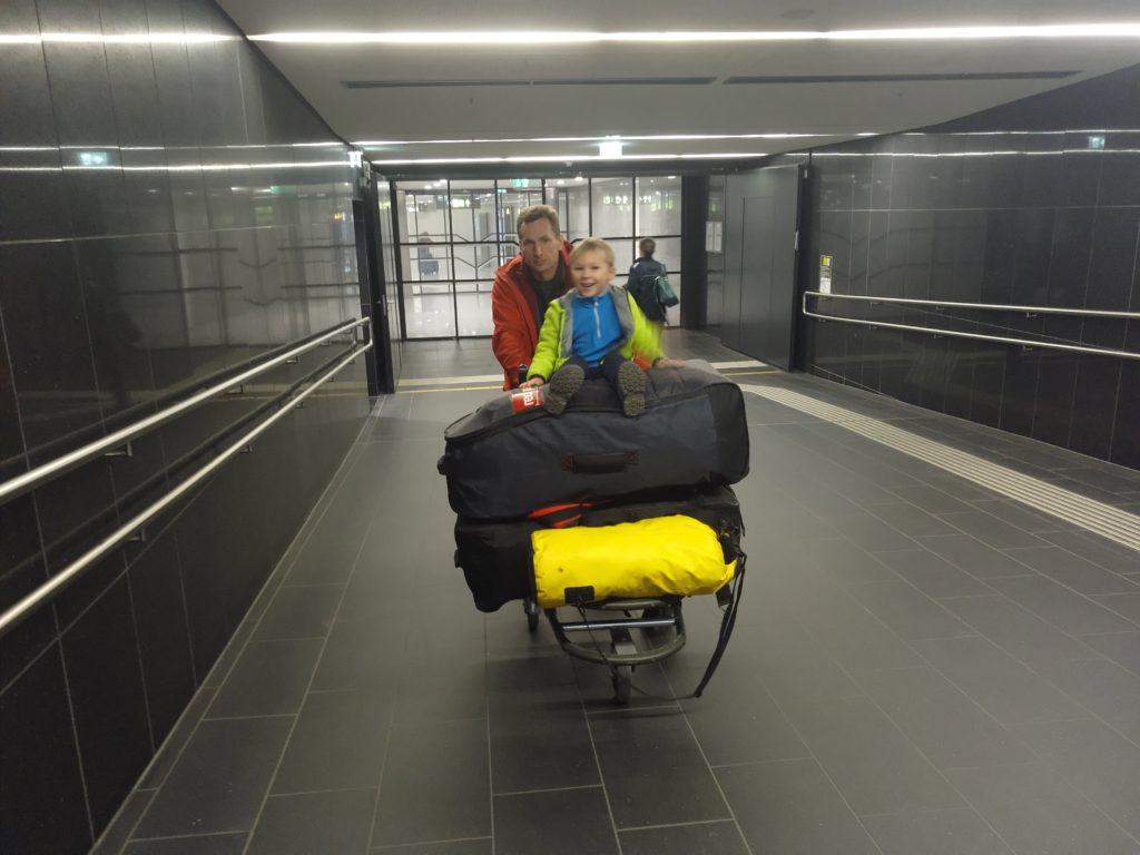 На пересадке в аэропорту Вены