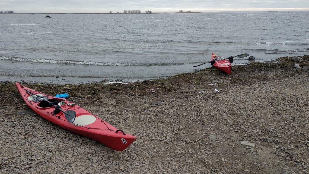 Пляж евакуації в Біленькому