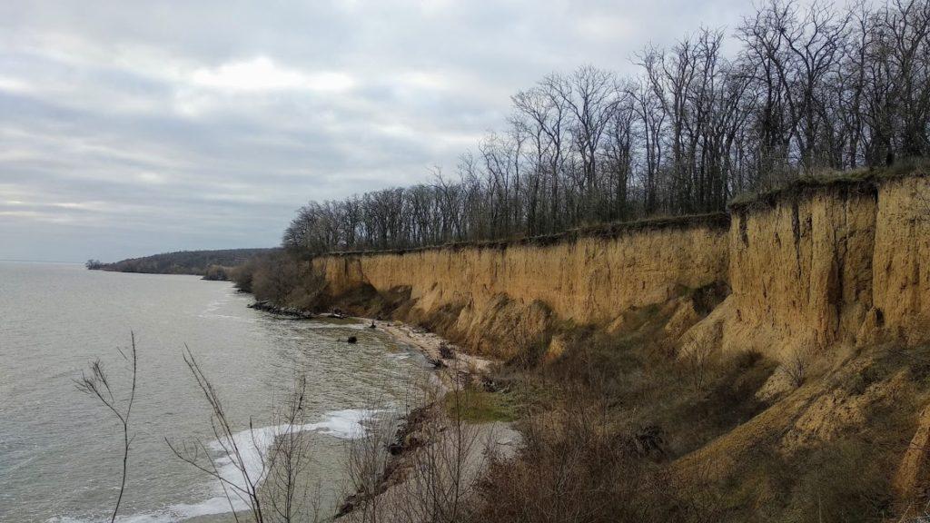 Береги Каховського водосховища біля Червонодніпровки