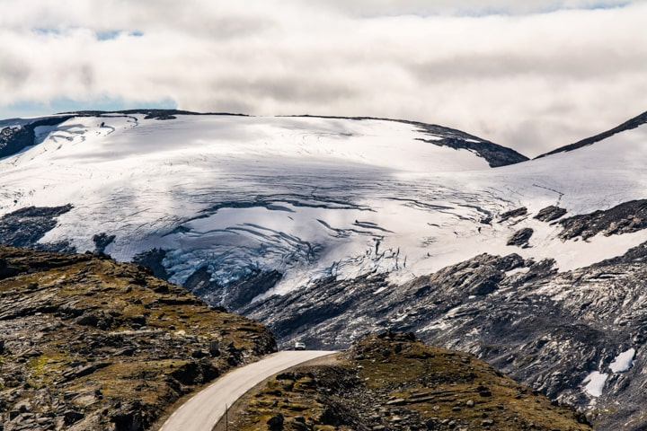 Веломандрівка до Норвегії. Льодовик