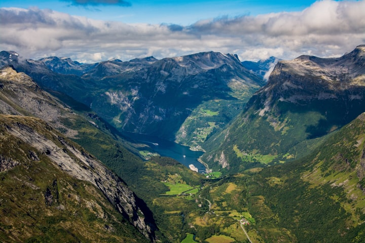 Веломандрівка до Норвегії. Гейрангер-фьорд
