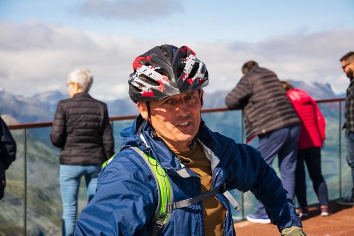 Олег Пільгун в велоподорожі до Норвегії