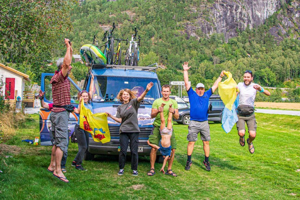 Велотур до Норвегії