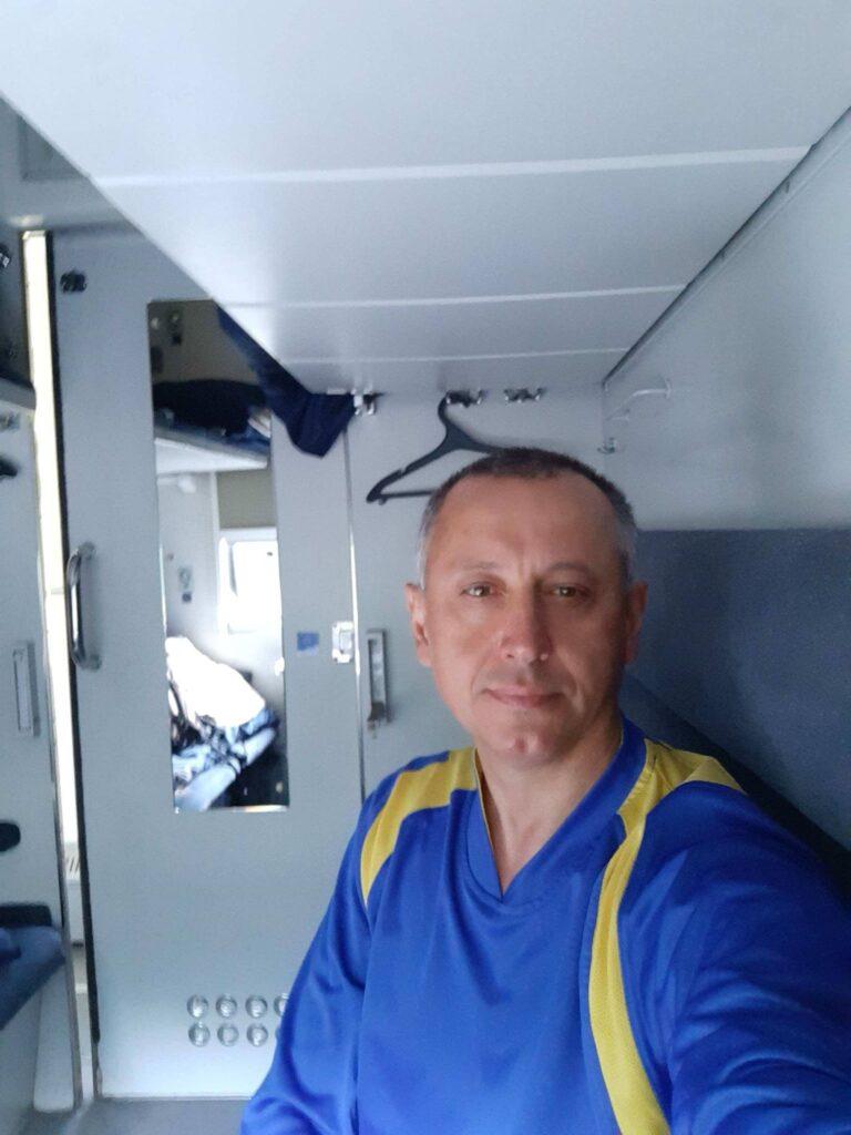 Рома Липара и поезд