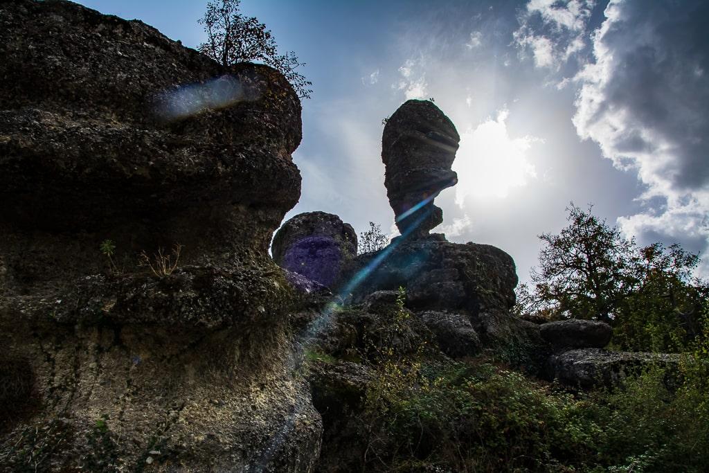 Выветренные скалы Турции