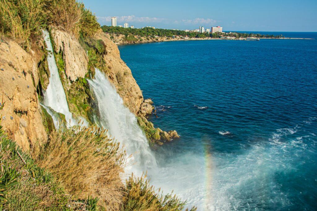 Водопад Дюден, Анталия