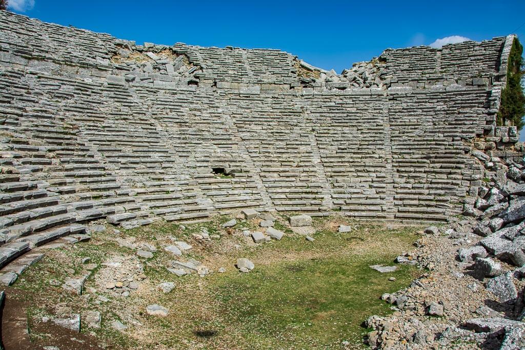 Древний амфитеатр Сельге, Турция