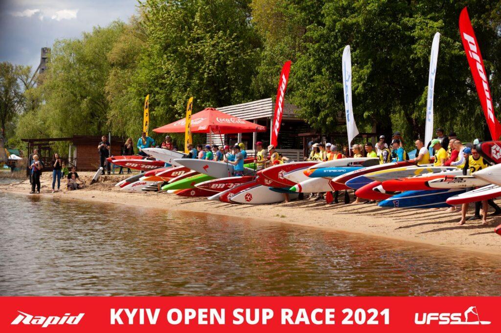 На старту Kyiv Open SUP Race 2021